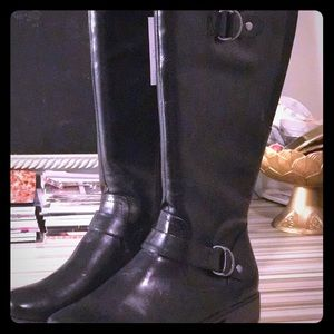 Starlie Black Boots by Naturalizer